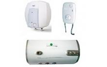 Įvairių gamintojų ir modelių vandens šildytuvai