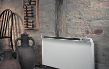 Elektriniai radiatoriai GLAMOX heating TPVD (atsparūs aptaškymui)