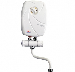 Momentinis vandens šildytuvas EPS-5,5 Twister su maišytuvu, 5,5 kW
