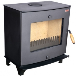 Orinio šildymo krosnelė-židinys K-1-4, 8,5 kW