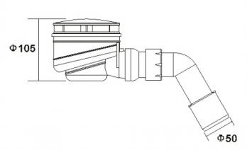Sifonas HG85A