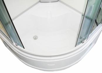 Dušo kabina R8601 80x80 grey/white