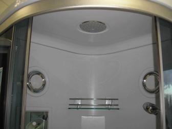 Masažinė dušo kabina R826B 80x80 grey