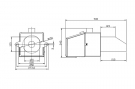 Granulių degiklis BurnPell X.Mini, 5 - 26 kW