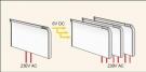 Termostatas-vykdantysis mechanizmas (modulis) GLAMOX heating SLA 5/24