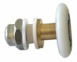 Ratukas dušo kabinos durims metal. 27 mm