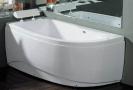Akrilinė vonia B1680 kairinė 150cm empty