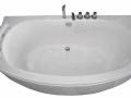 Akrilinė vonia B1790-1 be masažų (simple) 150cm
