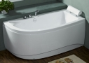 Akrilinė vonia B1680 dešininė be masažų (simple) 170cm